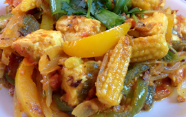 CRISPY CHILLI BABYCORN